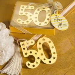 Elégant 50ème anniversaire livre point