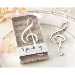 Note de musique ouvre présenté dans un coffret cadeau