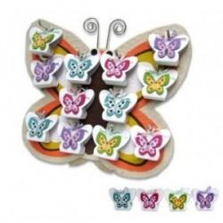 Présentoir papillon printemps