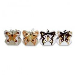Ensemble De Boîte de 12 Papillons automne
