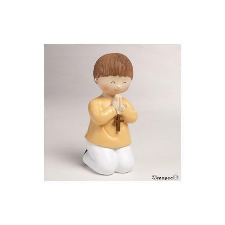 Tireloire Figure garçon gâteau de communion 16 cm