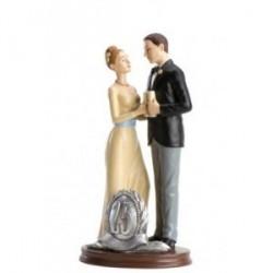 Figure Gâteau de mariage 25e anniversaire