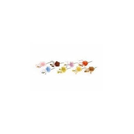 Pique Bouquet de fleurs 12cm