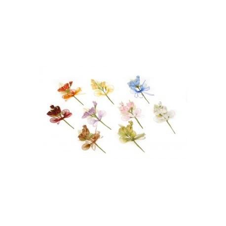 Pique bouquet de fleurs 14cm