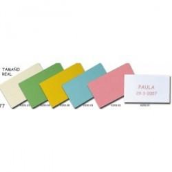 Pré-feuille à feuille avec 30 cartes en couleurs
