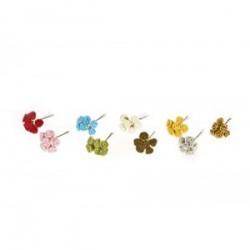 Pique bouquet de 6 fleurs décoration