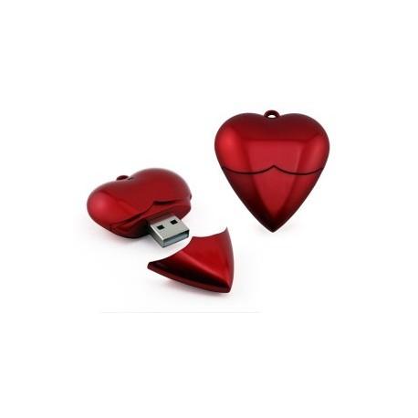 Coeur clé mémoire USB