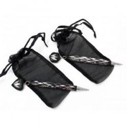 Stylo sac de bijoux en organza
