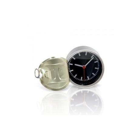 Horloge en aluminium