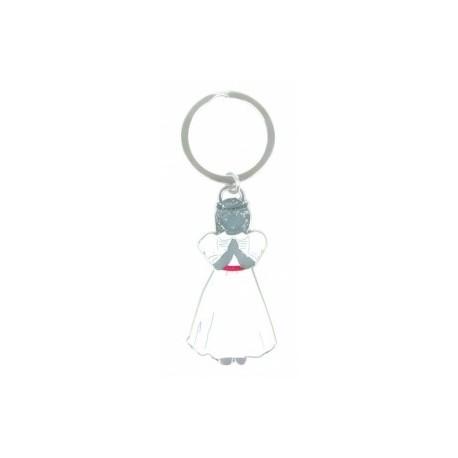 Porte-clés communion fille
