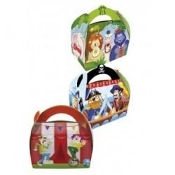 set 36 boîtes Pirates, clowns et animaux