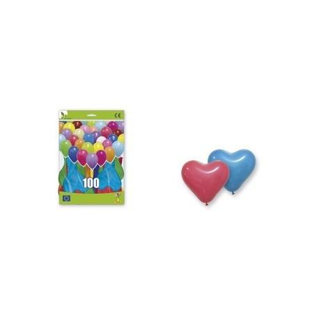 100 Ballons Coeur