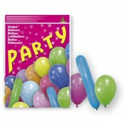 80 Ballons Party Mix