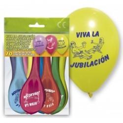 "Septembre 10 Ballons ""Viva La retraite"""