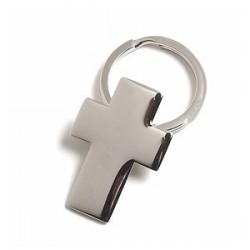 Métal porte-clefs croisées