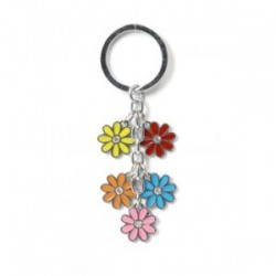 Porte-clés Fleurs