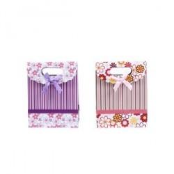 """Présentation sac et foulards cadeau """"Fleurs"""""""