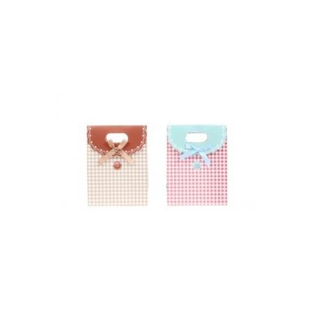 """Présentation sac et foulards cadeau """"Button"""""""