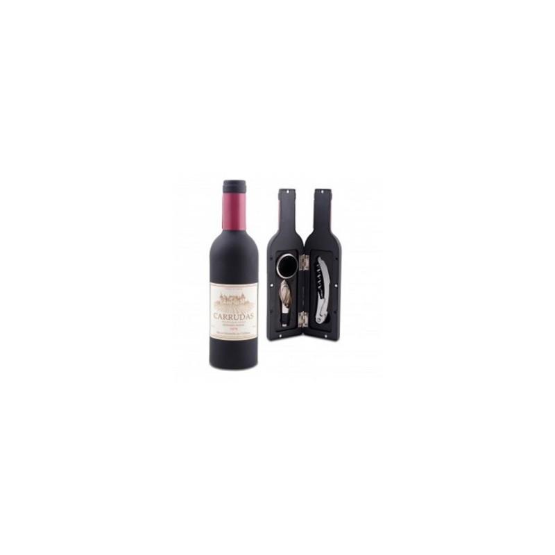 Set 3 pi ces bouteille de vin cadeauxmariages - Diametre bouteille de vin ...