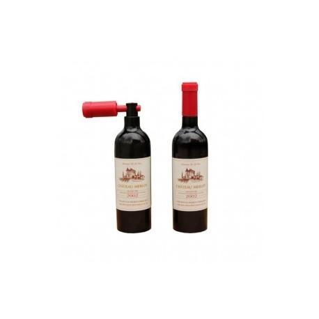 Tire-bouchon en forme de bouteille de vin