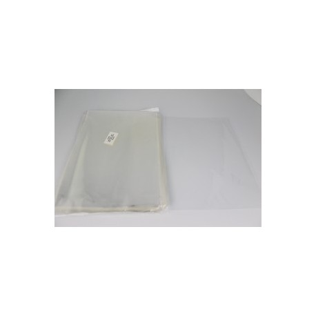 Lot de 100 grands sacs de cellophane 18 x 35 cm