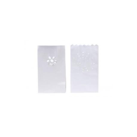 """Sac en papier pour la décoration des bougies """"Soleils"""""""