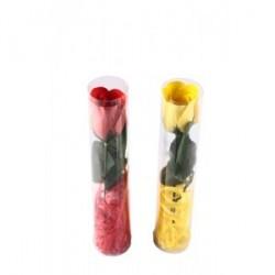 Fleur Rose Savon Pétales dans la boîte