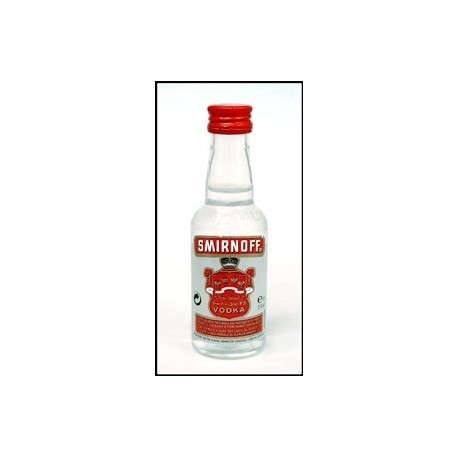 Vodka Smirnoff Liqueur Miniature