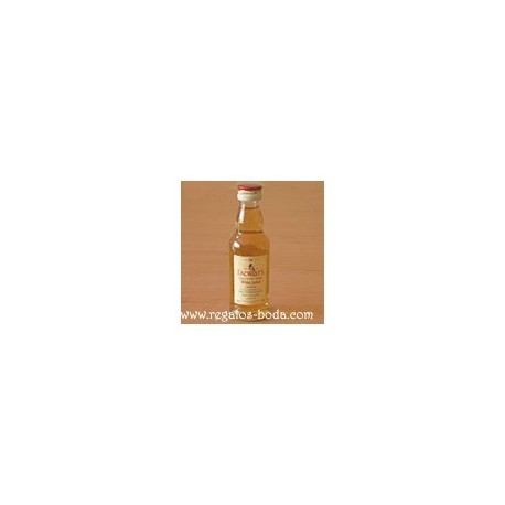 White Label Whisky Liqueur Miniature