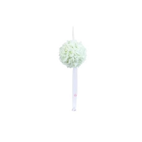 Boule Décoration Tissu Fleurs Mariages et Evénements