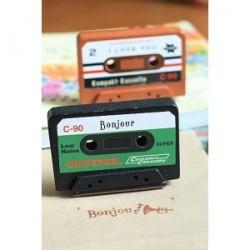 """Seal Cassette Scrap """"Bonjour"""" Affichage"""