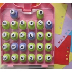 Perforatrices alphabet 26 pcs
