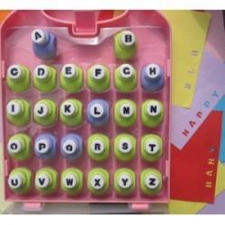 Perforatrices alphabet 26 pcs