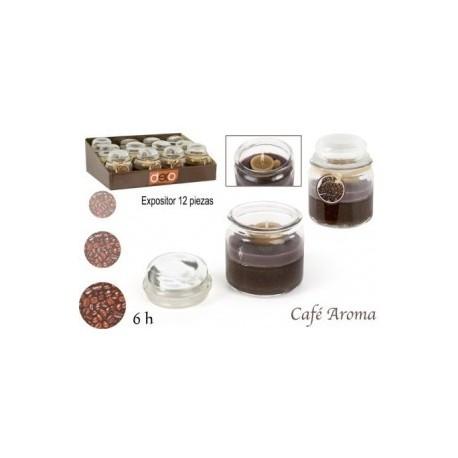 Bougie parfumé café et chocolat