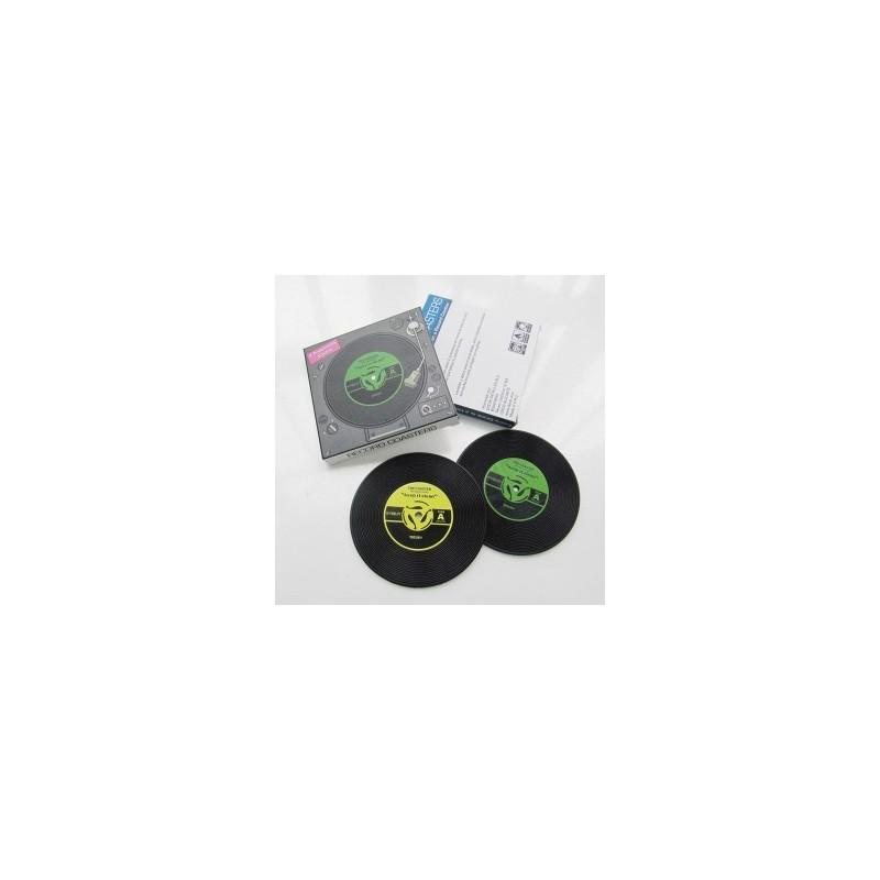 2 sous verres vinyl en pvc cadeauxmariages - Dessous de verre vinyle ...