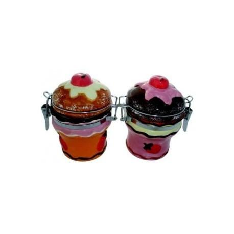 "Pot de rangement cuisine ""CUPCAKE"""