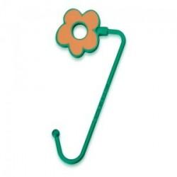 Crochets sac à main metal Agatha fleur