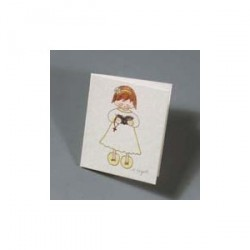 Lot 100 pcs. Carte fille chantant