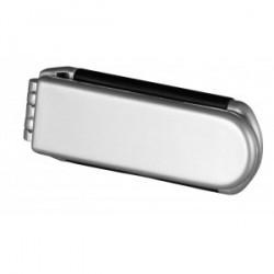 Brosse avec miroir pliable