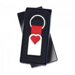 Porte-Clé en métal Coeur