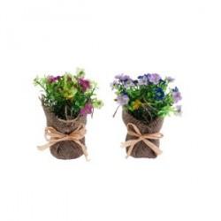 Pot de fleurs artificielles
