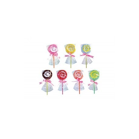 Serviette Lollipop dans sac cadeaux