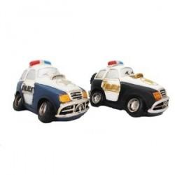 Tirelire voiture de police en résine