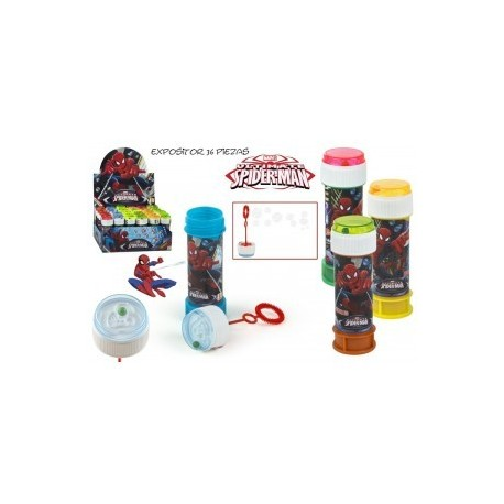 Bulles de savon Spiderman 60 ml