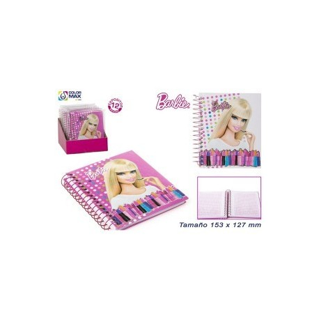 Carnet Barbie avec 60 feuilles