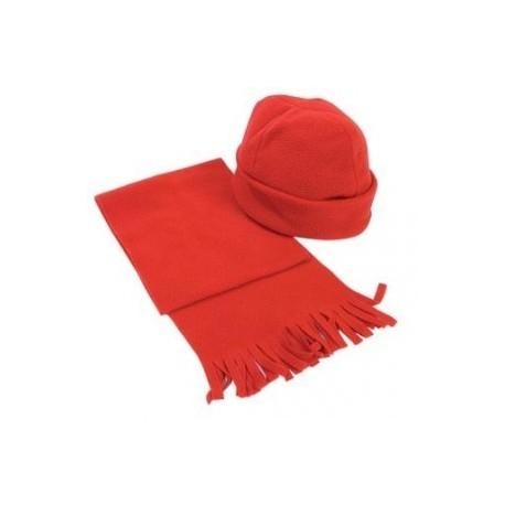 Set de la calotte polaire et une écharpe.