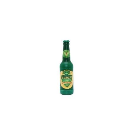 Confetti canon d'or en forme de bouteille de bière
