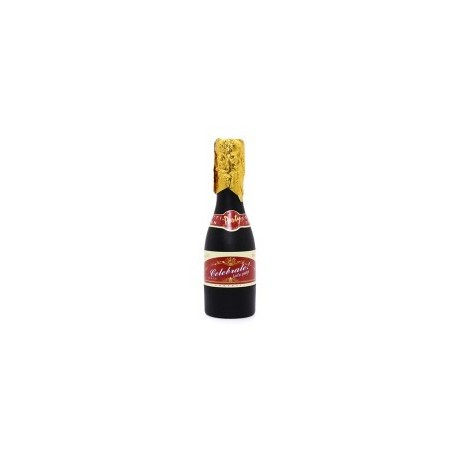 En forme de spirale canyon bouteille de champagne