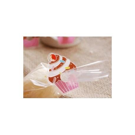 Lot 100 décoratifs Cupcake Fermetures