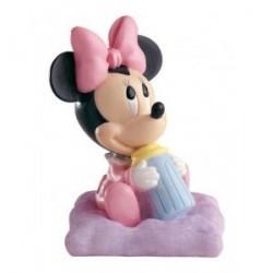 Figurine baptême Minnie